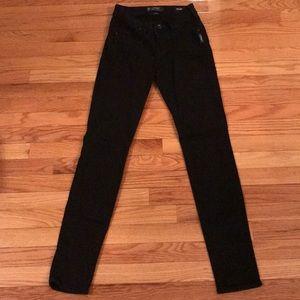 Silver Jeans Black Denim Fluid Skinny Jeans 26/31